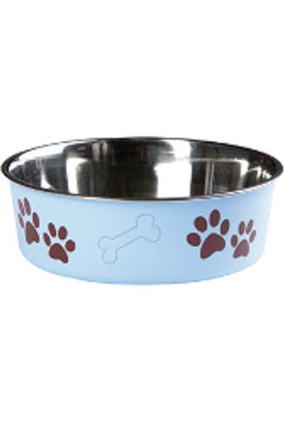 Karlie Bella Kedi Köpek Mama Kabı Mavi 14 cm
