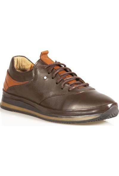Ayakkabı Çarşı Günlük Kahverengi Hakiki Deri Erkek