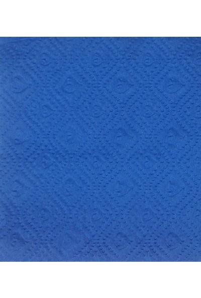 Story 30X32 cm 2 Katlı 100'LÜ Desenli Mavi Kağıt Peçete