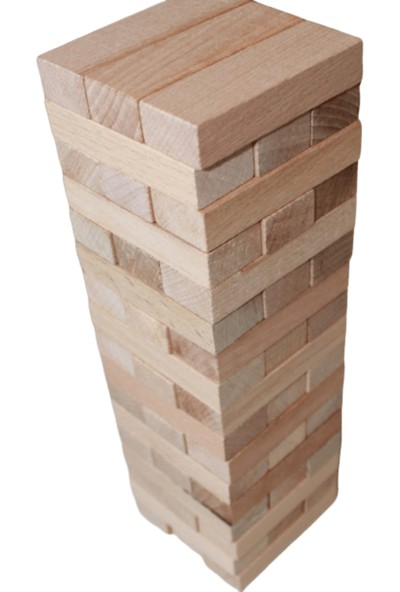 Anonim Ahşap Kule - Denge Blokları