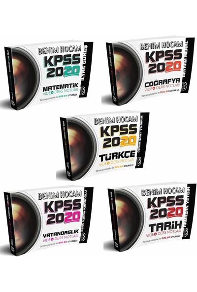 Benim Hocam Yayınları 2020 Kpss Video Ders Notları Seti 5 Kitap