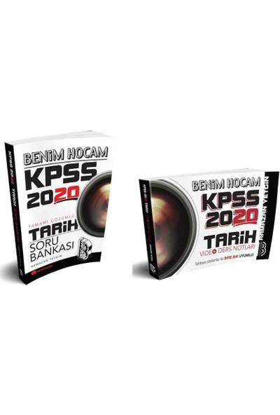 Benim Hocam Yayınları 2020 Kpss Tarih Soru Bankası ve Video Ders Notları Seti