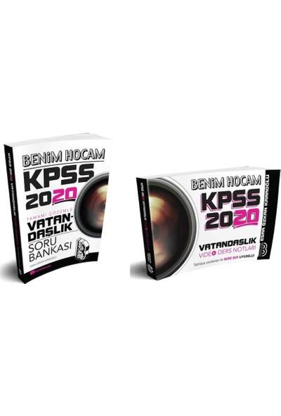 Benim Hocam Yayınları 2020 Kpss Vatandaşlık Soru Bankası-Video Ders Notları Seti