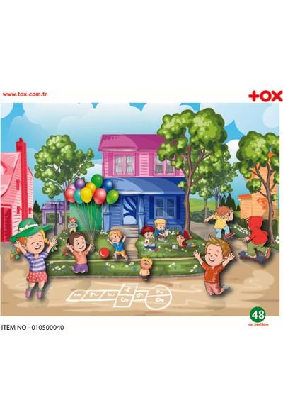 Tox Oyun Parkı 5+ Keçe Yapboz