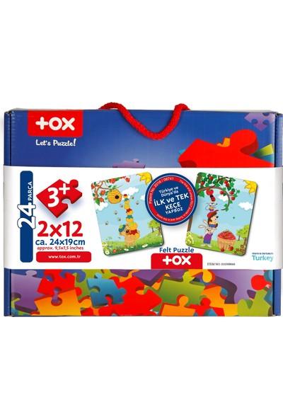 Tox Tox Elmacı Ayı 3+ Keçe Yapboz