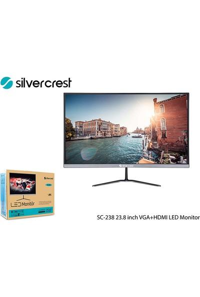"SilverCrest SC-238 23.8"" 60Hz 1ms ( HDMI+Analog) FreeSync Full HD Monitör"