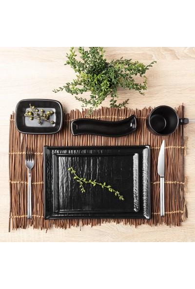 Bernardo Hanes Siyah Stoneware Çorba Kasesi - 12 cm