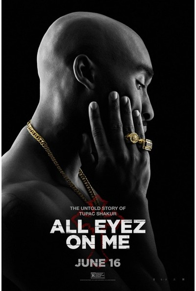 Amerikan BR All Eyez On Me (2017) L Poster