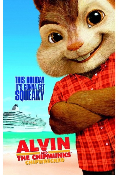 Amerikan BR Alvin And The Chipmunks Chip-Wrecked (2011) L Poster