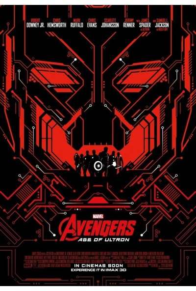 Amerikan BR Avengers Age Of Ultron (2015) L Poster