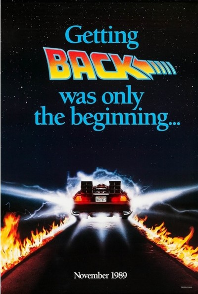 Amerikan BR Back To The Future Part Iı (1989) L Poster