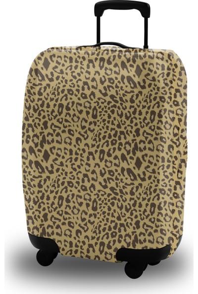 Mybag Leopardy Akıllı Valiz Kılıfı