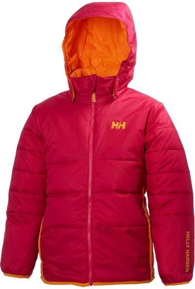 Helly Hansen HHA.40225 Jr Reversıble Down Jacket HHA.203 Raspberry Red Helly Hansen Çocuk Mont