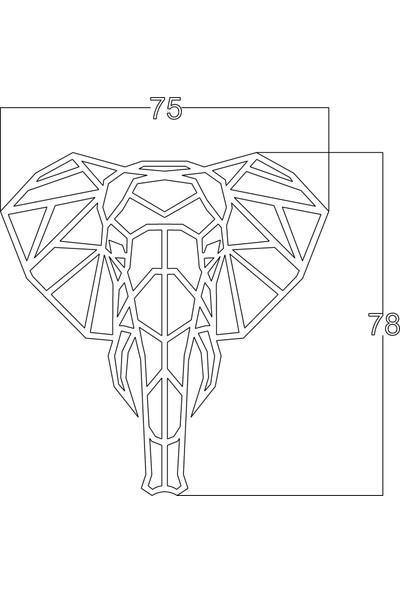 Mingitav Elephant Duvar Dekoru
