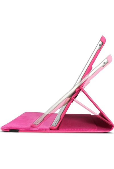 Microsonic Apple iPad 10.2'' 7. Nesil (A2197-A2200-A2198) Kılıf 360 Rotating Stand Deri Siyah