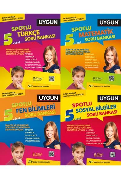 Sadık Uygun 5.Sınıf Türkçe Matematik Fen Bilimleri Sosyal Bilgiler Soru Bankası