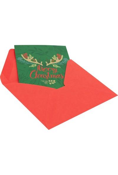 Merry Christmas Sembollü Hediye Kartı - Sihirli Semboller