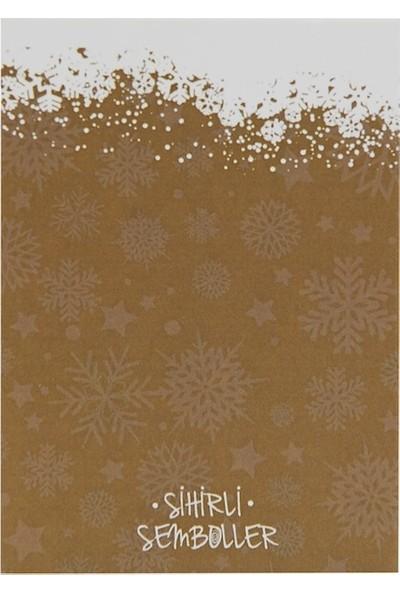 Yeni Yıl Sembollü Hediye Kartı - Sihirli Semboller