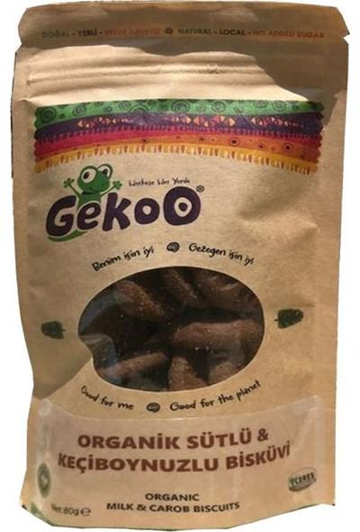 Gekoo Organik Sütlü Keçiboynuzlu Çocuk Bisküvisi 150 gr
