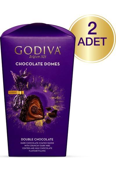 Godiva Domes Duble Çikolata 130 gr