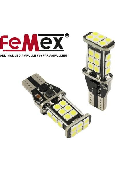 FEMEX Platinum T15 W16W Led Ampul Park Geri Vites Ampulu