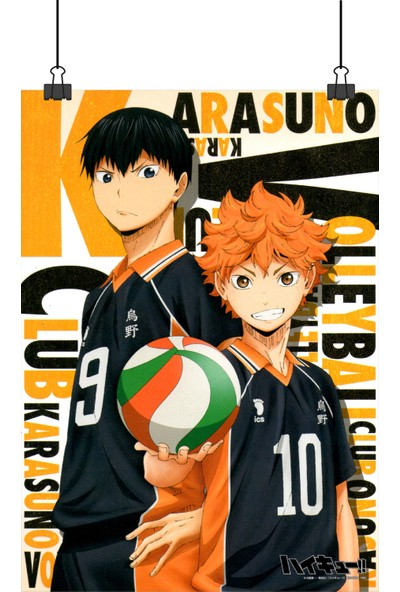13 Poster Voleybol Animesi Haikyuu Ana Karakterleri Afiş 70 x 50 cm Posteri