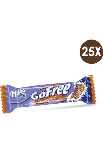 Milka Gofree Çikolatalı Gofret 28 gr- 25 Adet