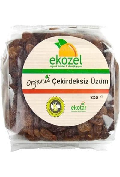 Ekozel Organik Çekirdeksiz Kuru Üzüm 250 gr