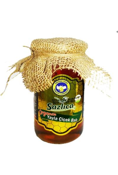Sazlıca Organik Sertifikalı Yayla Çiçek Balı 460 gr