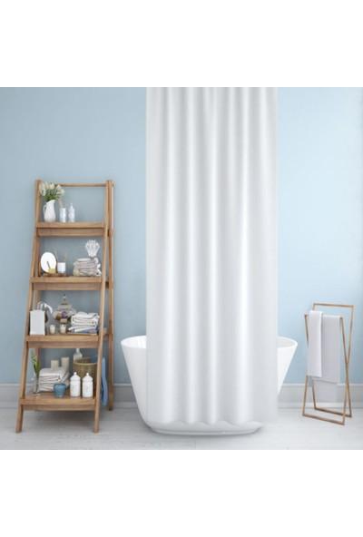 Prado Banyo Duş Perdesi Beyaz 180 x 200 cm