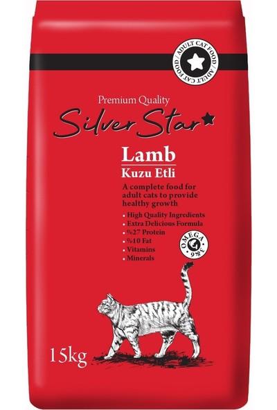 Silverstar Kuzu Etli Yetişkin Kedi Maması 15 kg