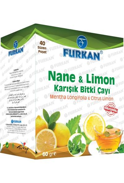 Furkan Nane & Limon Çayı Süzen 40'lı