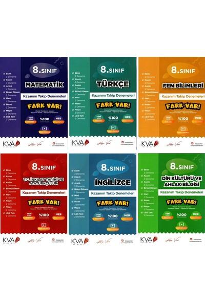Kva Yayınları 8. Sınıf Fark Var Kazanım Takip Denemeleri Seti 6 Kitap
