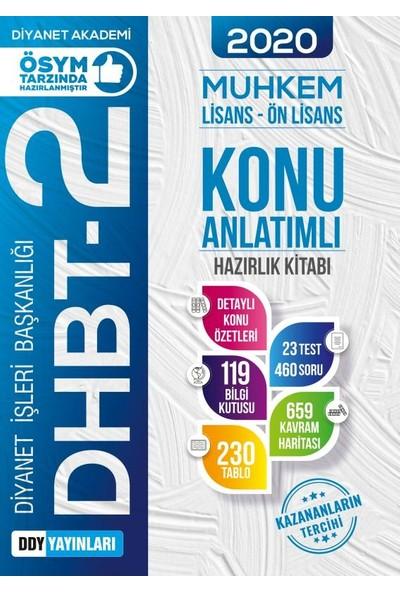 Ddy Yayınları Dhbt 2 2020 Muhkem Serisi Lisans-Önlisans Konu Anlatımlı Hazırlık Kitabı