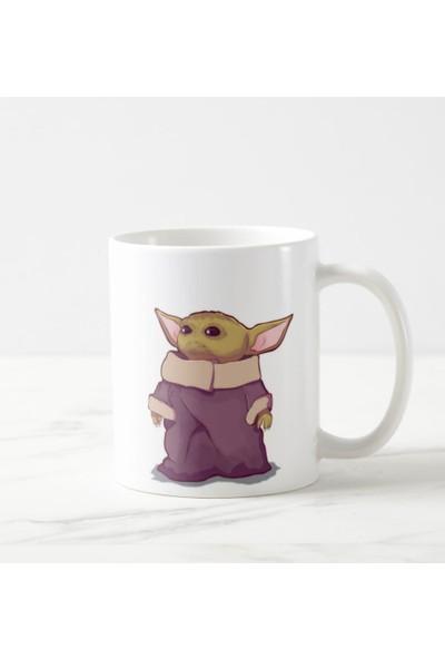Kuppa Shop Baby Yoda, Mandalorian Kupa Bardak, Star Wars