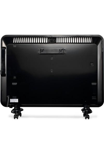 Kı 1500 D Konvektör Dijital Siyah Camlı - 1500 W