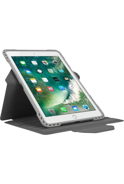 "Targus THZ73711GL 9.7"" iPad 6. Nesil (2018) 5. Nesil (2017), iPad Pro, iPad Air 2 ve iPad Air Kılıf - Gri"