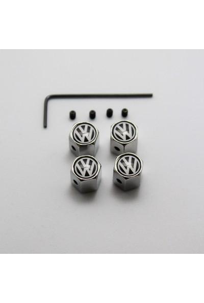 Ripido Volkswagen Sibop Kapağı Alyanlı Model Gümüş Renk Çalınmaya Karşı Güvenli