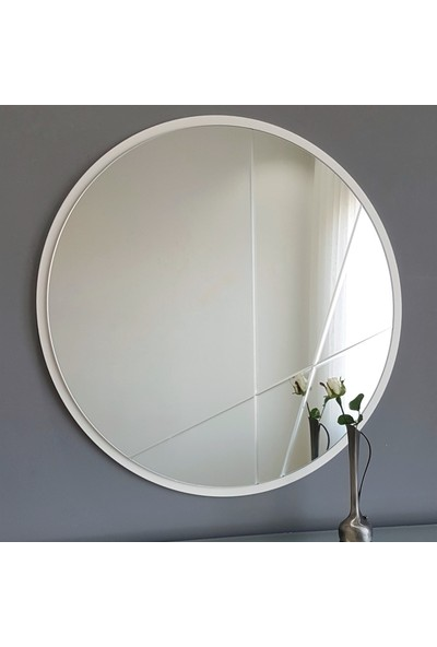 Neostill 3 Parça Modern Ayna 60 cm Yuvarlak