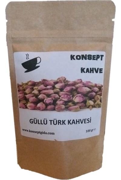 Konsept Güllü Türk Kahvesi 100 gr