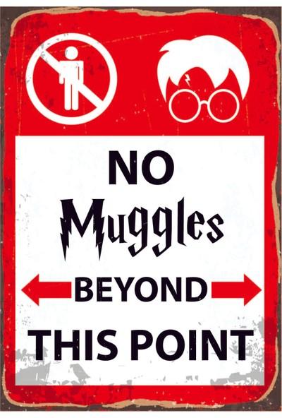Marple's Harry Potter No Muggles Poster