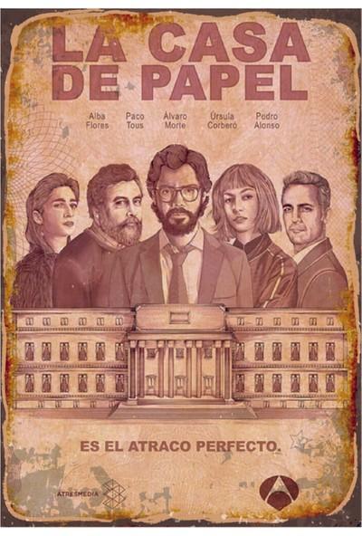 Marple's La Casa De Papel Poster