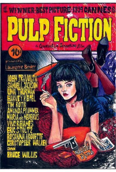 Marple's Pulp Fiction Poster