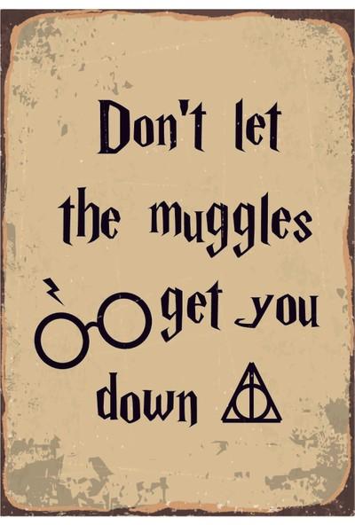 Marple's Harry Potter Muggle Poster