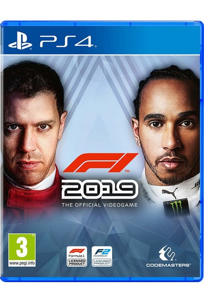 F1 2019 Standart Edition PS4 Oyun