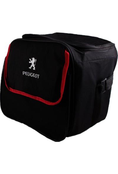Dekohop Peugeot Uyumlu Bagaj Toparlayıcı Organizer Çanta