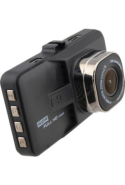 "Concord C-658 Araç Kamera Fullhd 3.0"" IPS 2 Kamera Gece Çekim"