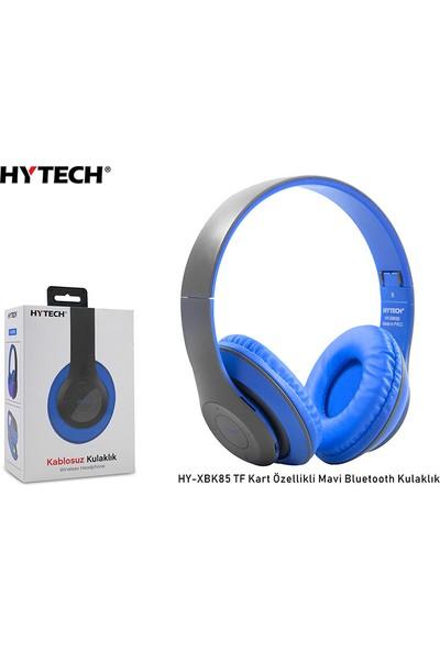 Hytech HY-XBK85 Tf Kart Özellikli Mavi Bluetooth Kulaklık