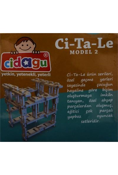 Cidagu Ci-Ta-Le Model 2 Ahşap Yapboz