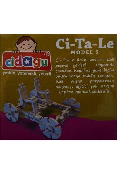 Cidagu Ci-Ta-Le Model 5 Ahşap Yapboz